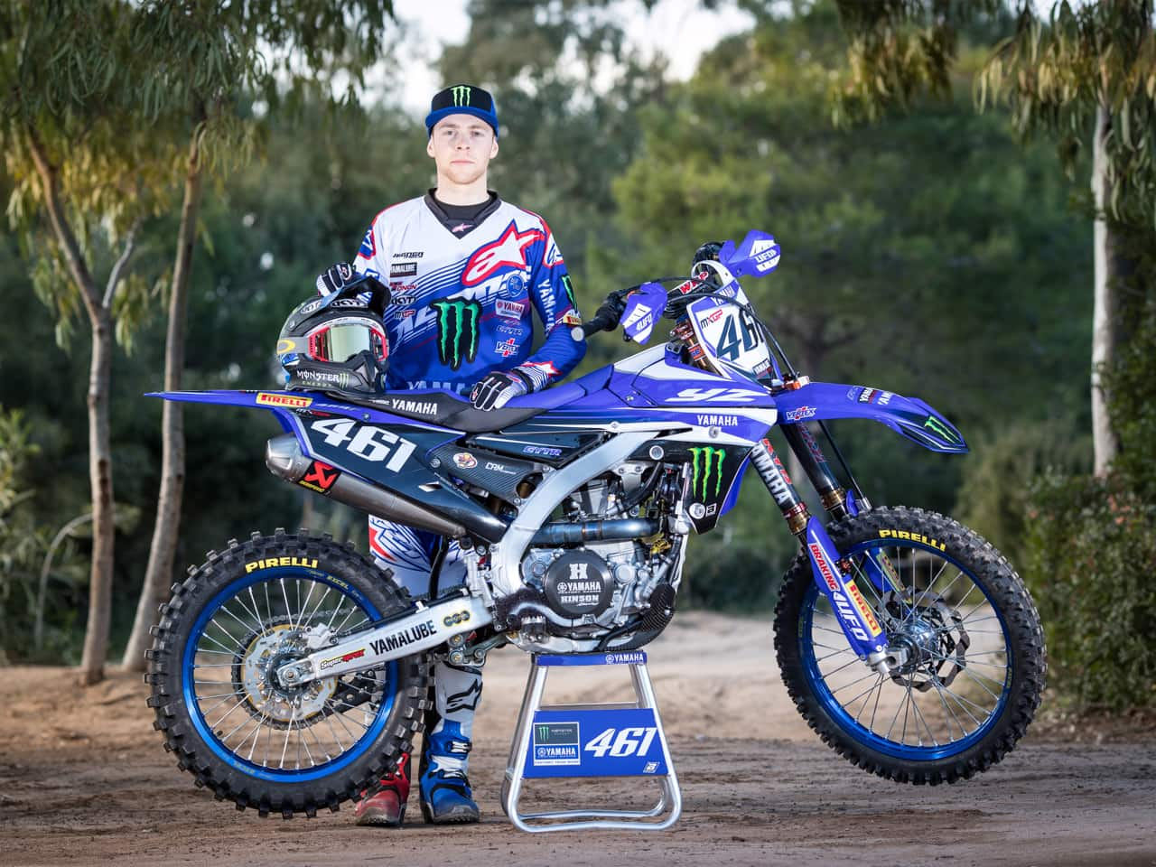First Look 2017 Monster Energy Factory Yamaha Mxgp Team