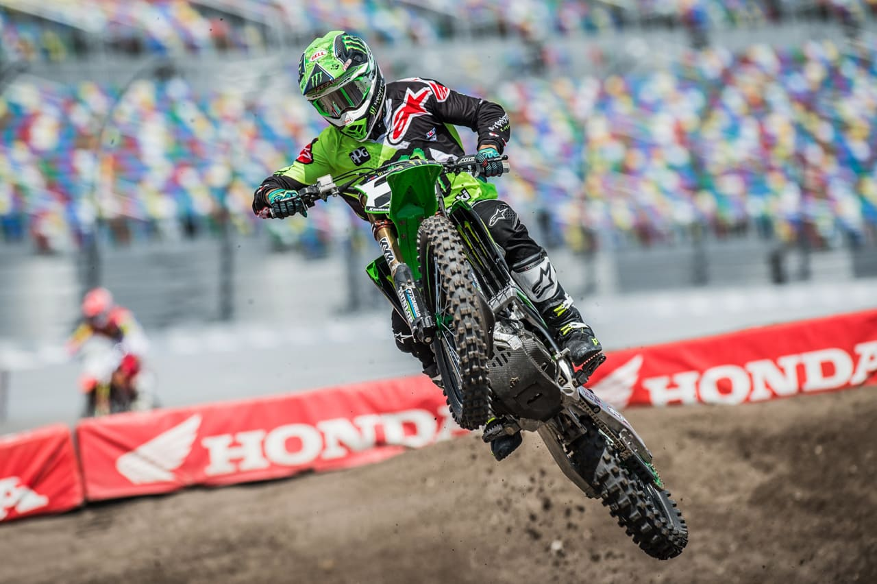 press day daytona supercross motocross action magazine