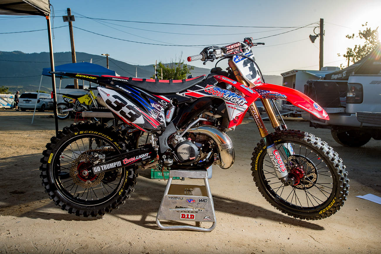 The Bikes Of The World Two Stroke Championship Motocross