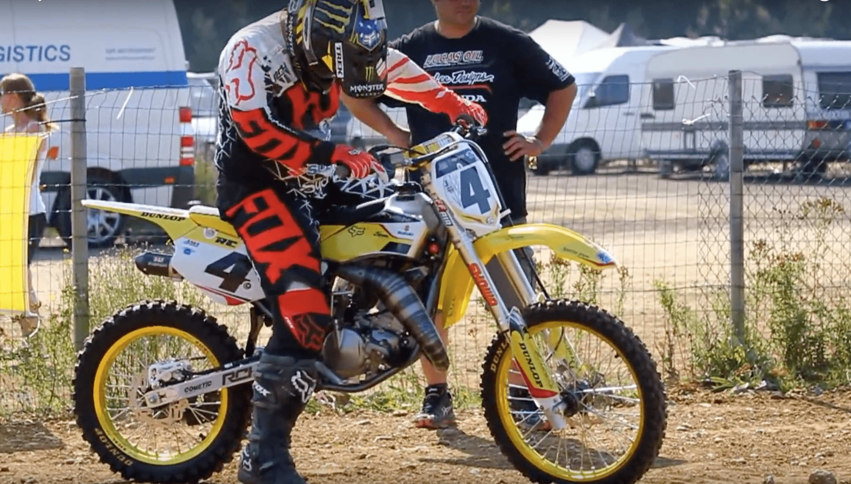 RICKY CARMICHAEL RIPPING ON THE TRICKEST RM85 YOU HAVE EVER SEEN Motocross Action Magazine