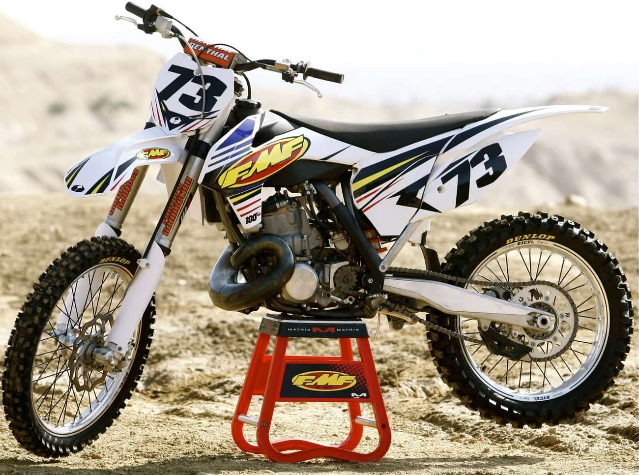 Suzuki   Stroke Dirt Bike For Sale