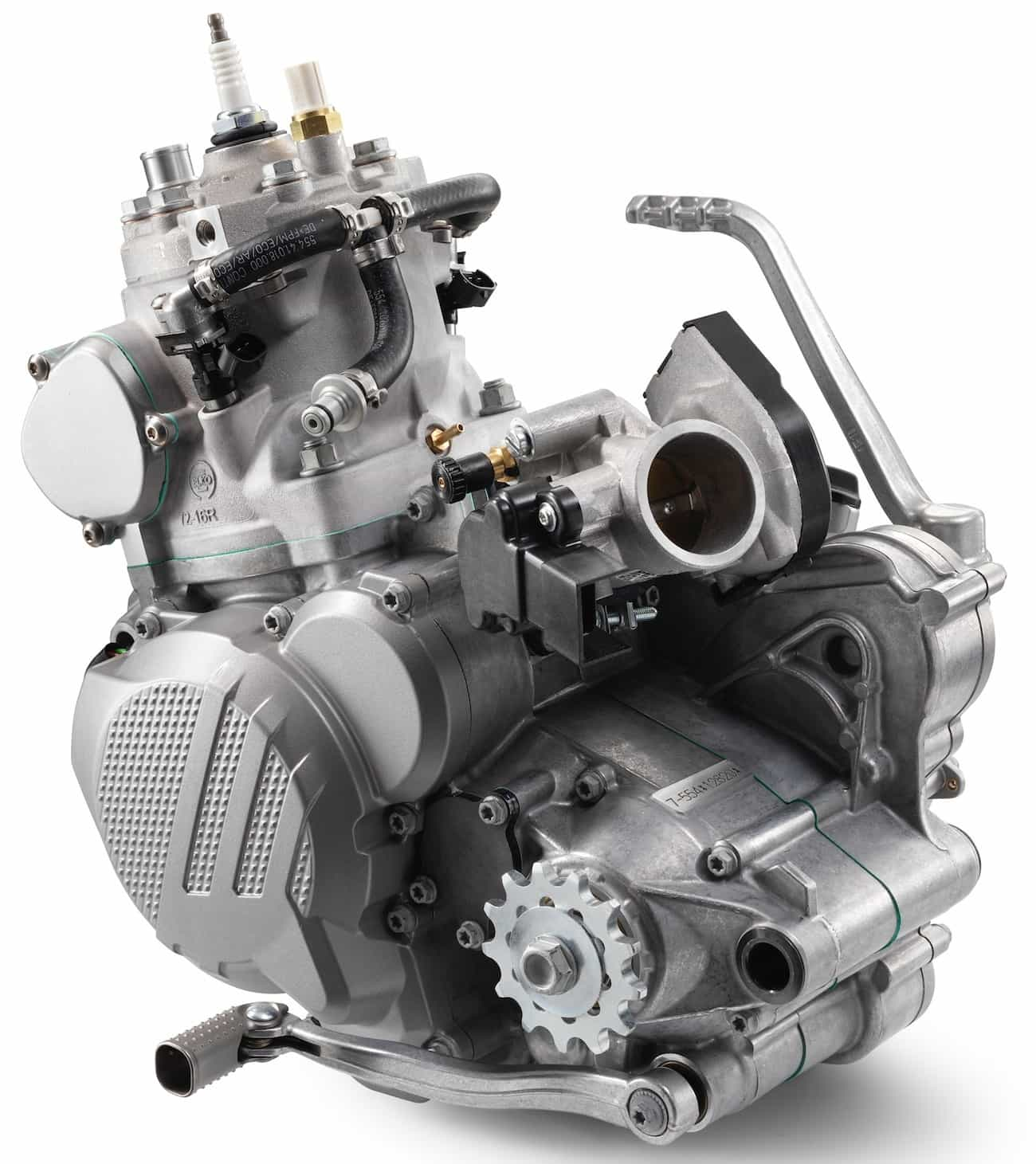 INSIDE LOOK AT THE 2018 KTM 250 FUEL-INJECTED TWO-STROKE