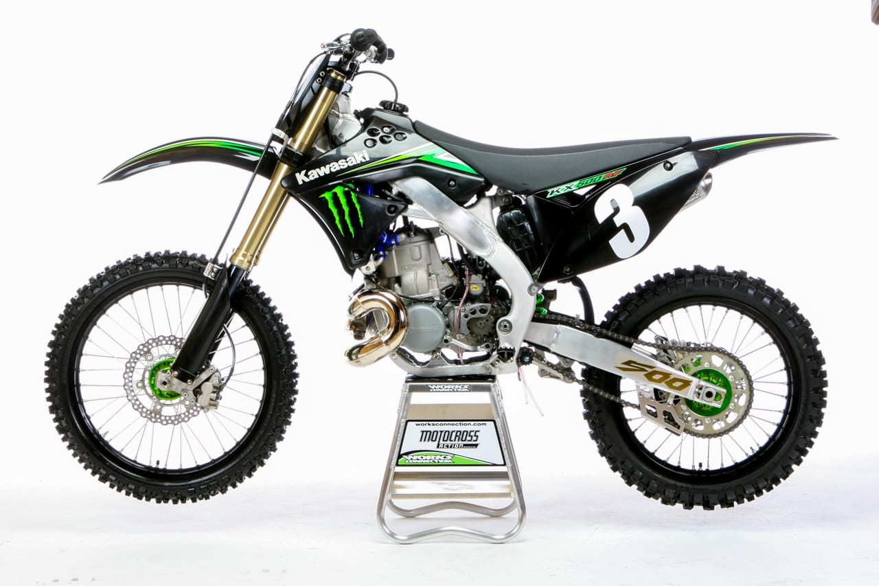 TWO-STROKE TUESDAY: KX500AF ENGINE IN A KX250F CHASSIS | Motocross ...