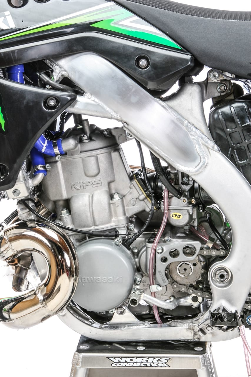 TWO-STROKE TUESDAY: KX500AF ENGINE IN A KX250F CHASSIS