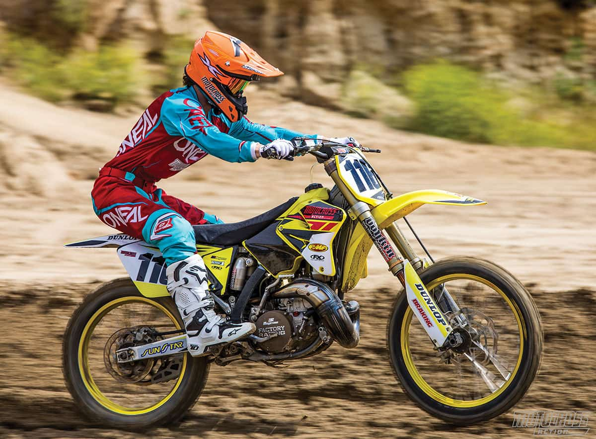 Mxas Race Ready 2006 Suzuki Rm250 Two Stroke Motocross Action Moded Bikes Dont Write That Check For A New Four Until Youve Thrown Leg Over This 250cc Its Like No Other Bike On The Planet