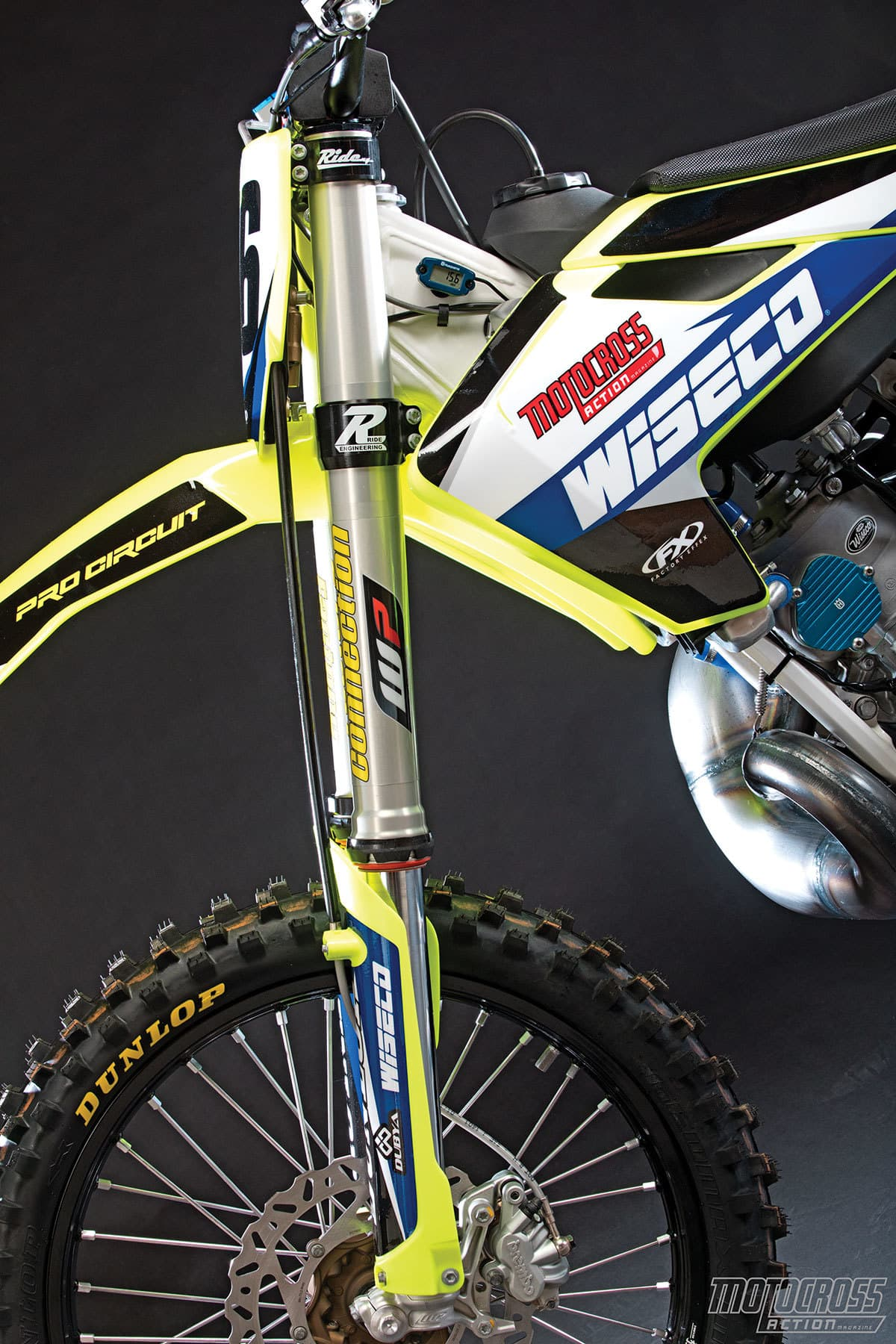 FORK WORKS: FACTORY CONNECTION WP AER CONVERSION KIT | Motocross