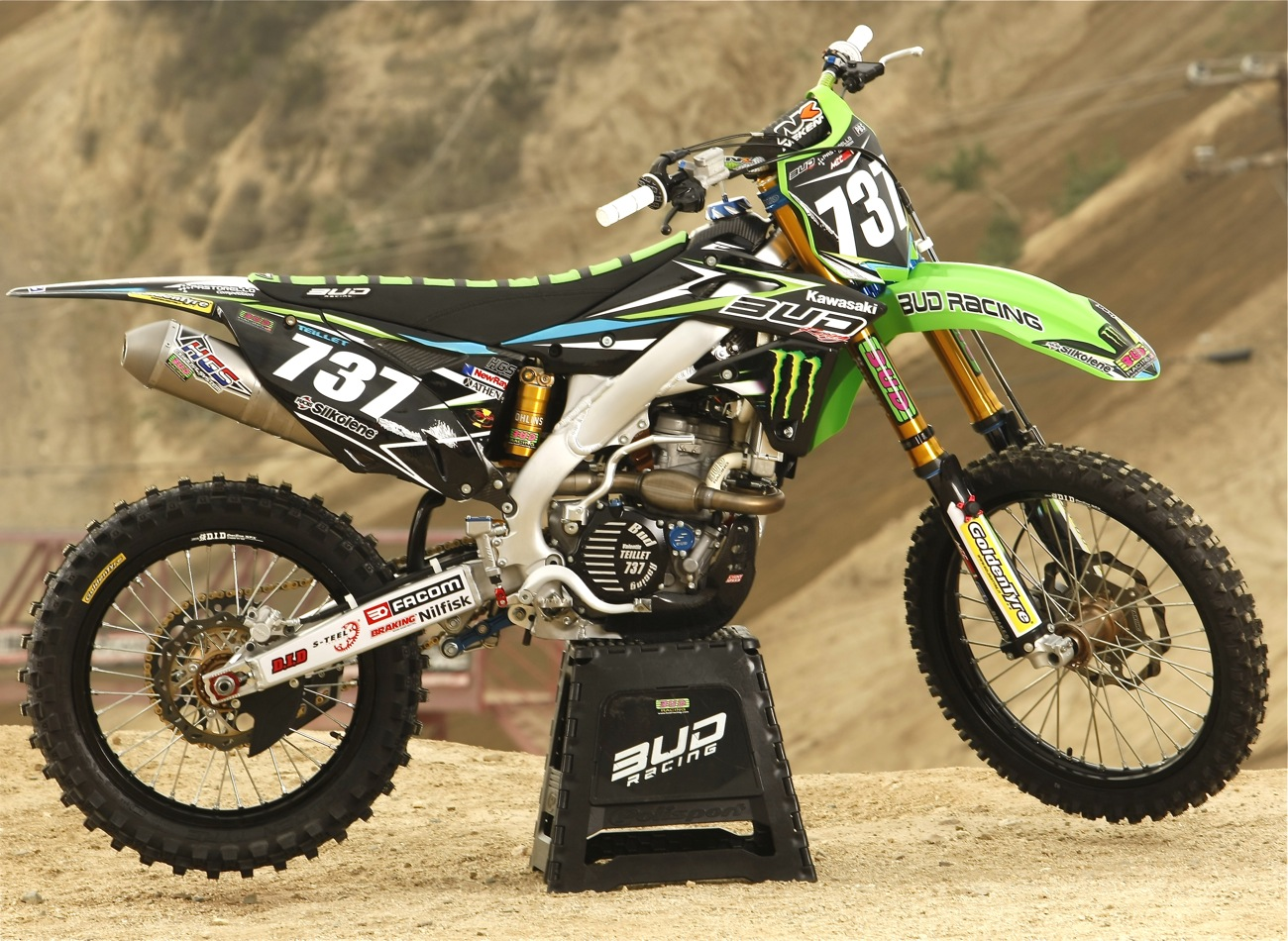 WE RIDE VALENTIN TEILLET'S BUD RACING KAWASAKI KX250F