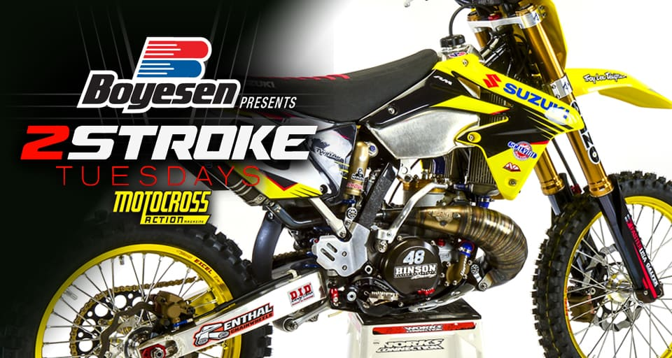 2018 suzuki two strokes. delighful strokes motocross action magazine  twostroke tuesday what a 2018 suzuki rm250  would look like intended suzuki two strokes k