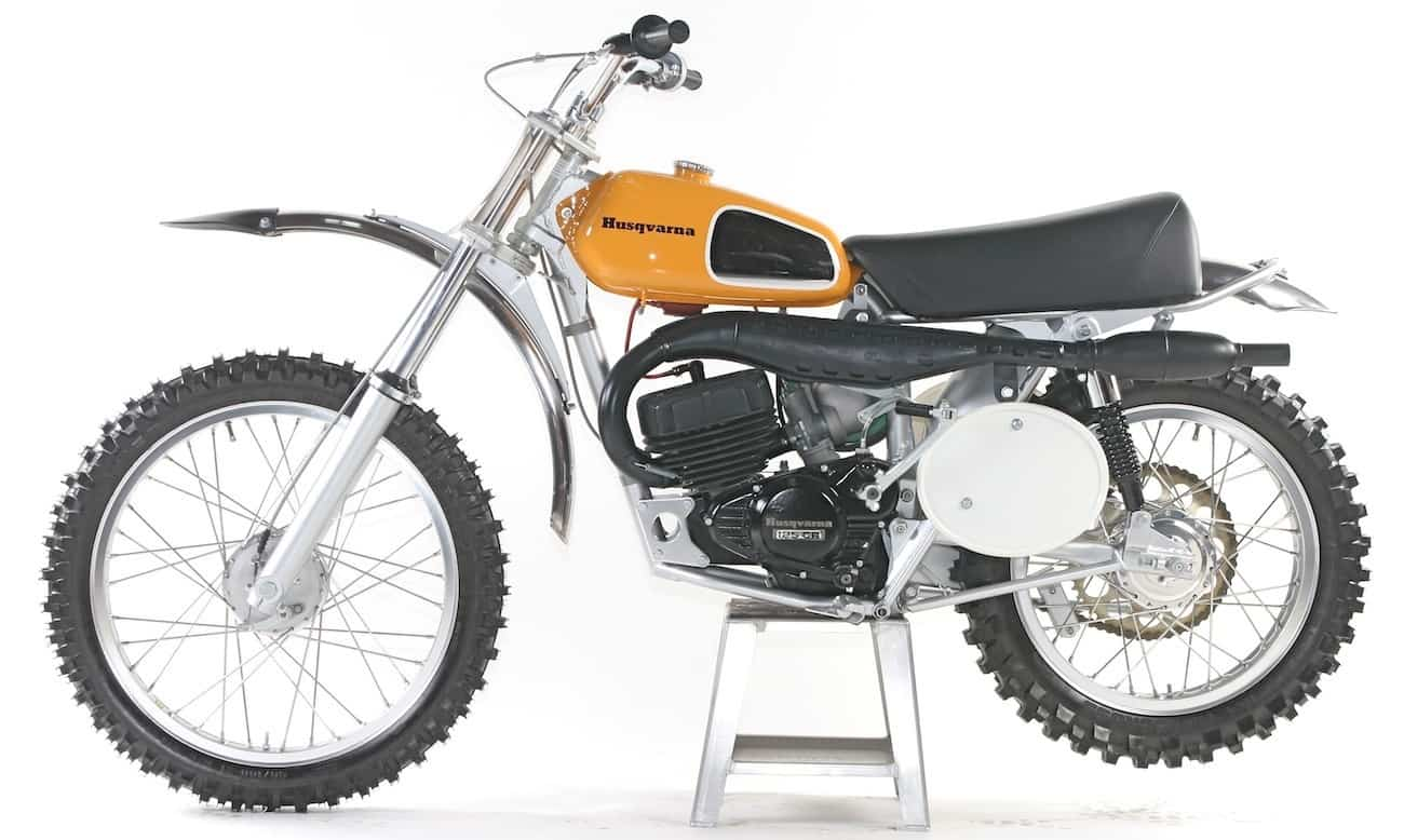 classic motocross iron 1974 husqvarna 125cr motocross action magazine. Black Bedroom Furniture Sets. Home Design Ideas