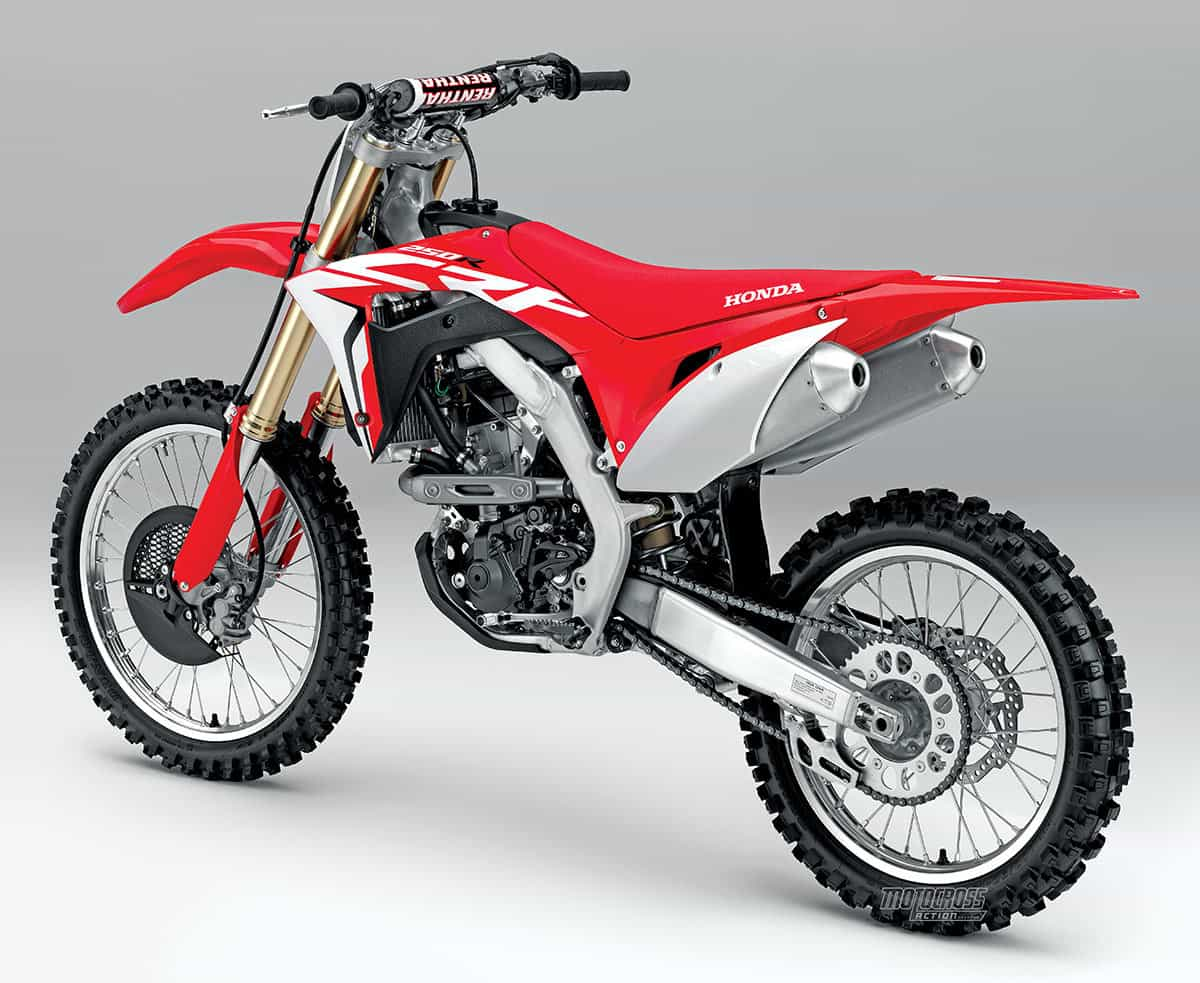 mxa starts testing the 2018 honda crf250 on thursday motocross action magazine. Black Bedroom Furniture Sets. Home Design Ideas