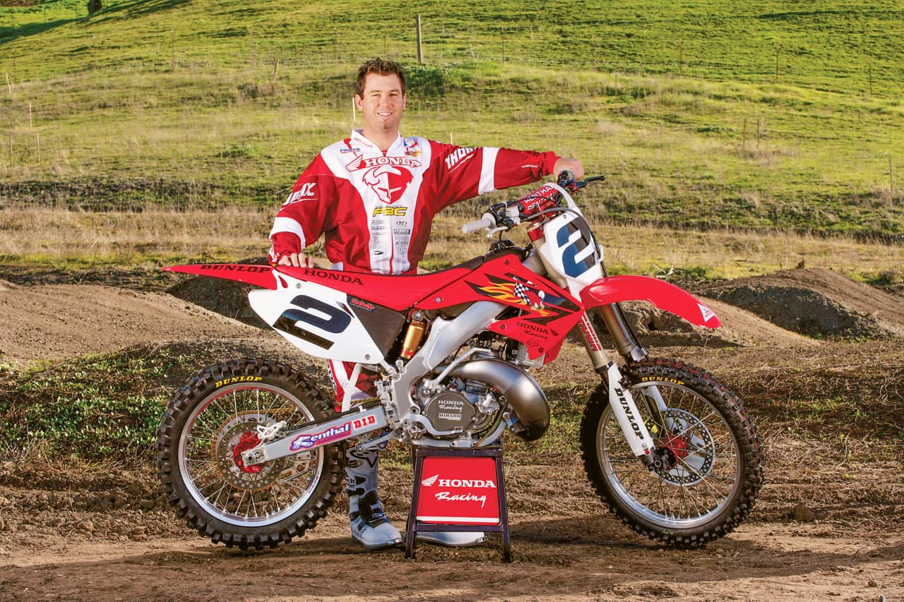 TWO-STROKE TUESDAY: JEREMY MCGRATH'S 2005 FACTORY CR250|Motocross Action Magazine