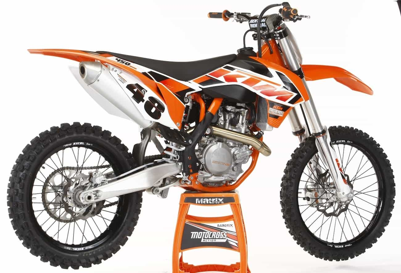 2015ktm450sxf motocross action magazine mxa log book secrets of the 2017 '18 KTM 450 EXC at alyssarenee.co