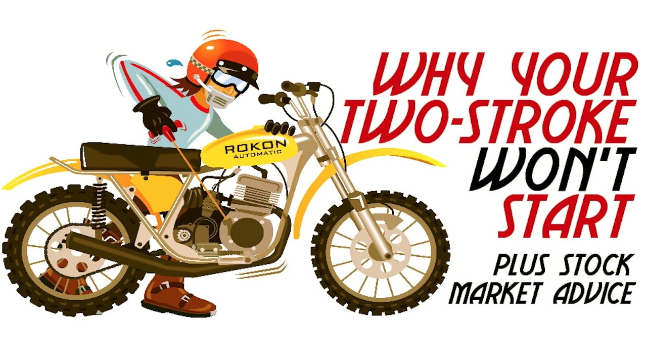 Why Your Two Stroke Wont Start Motocross Action Magazine Yamaha Dt 175 Wiring Harness