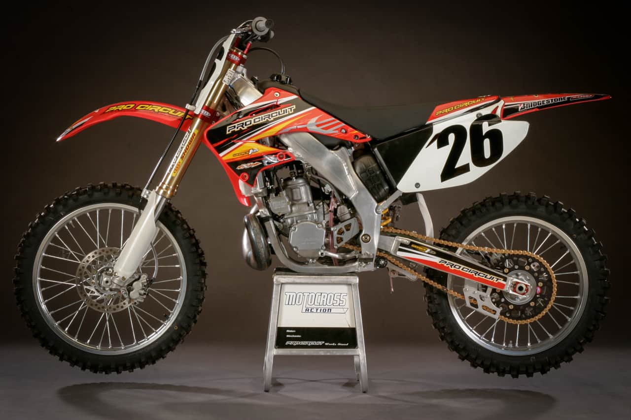 TWO-STROKE TUESDAY: WE RIDE PRO CIRCUIT'S 2004 HONDA CR250