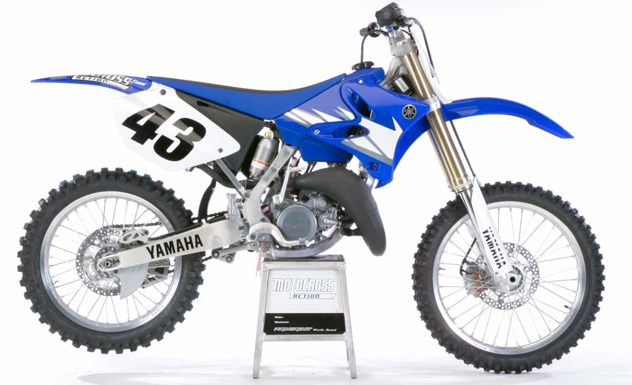 on record 2005 yamaha yz125 motocross action magazine. Black Bedroom Furniture Sets. Home Design Ideas