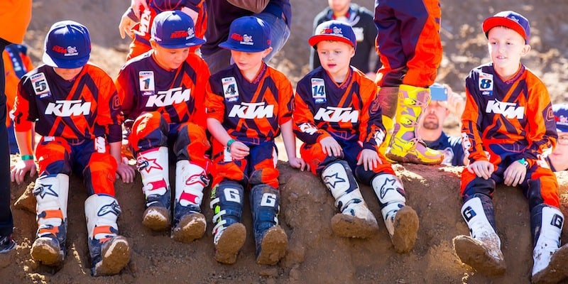 2018 ktm jr challenge. delighful 2018 motocross action magazine  inside ktmu0027s 2018 junior supercross program for  kids on ktm jr challenge a