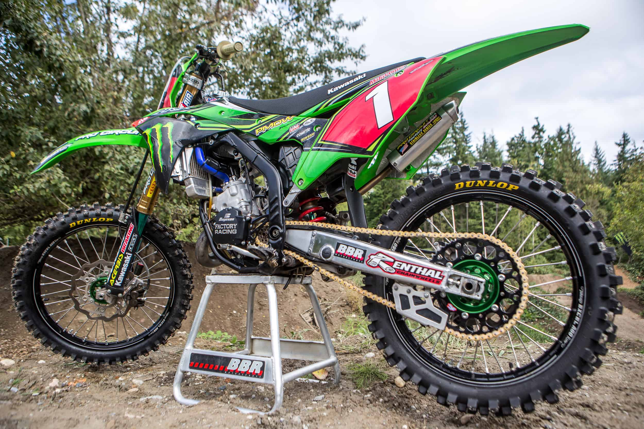 two stroke tuesday what a 2018 kx125 would look like. Black Bedroom Furniture Sets. Home Design Ideas