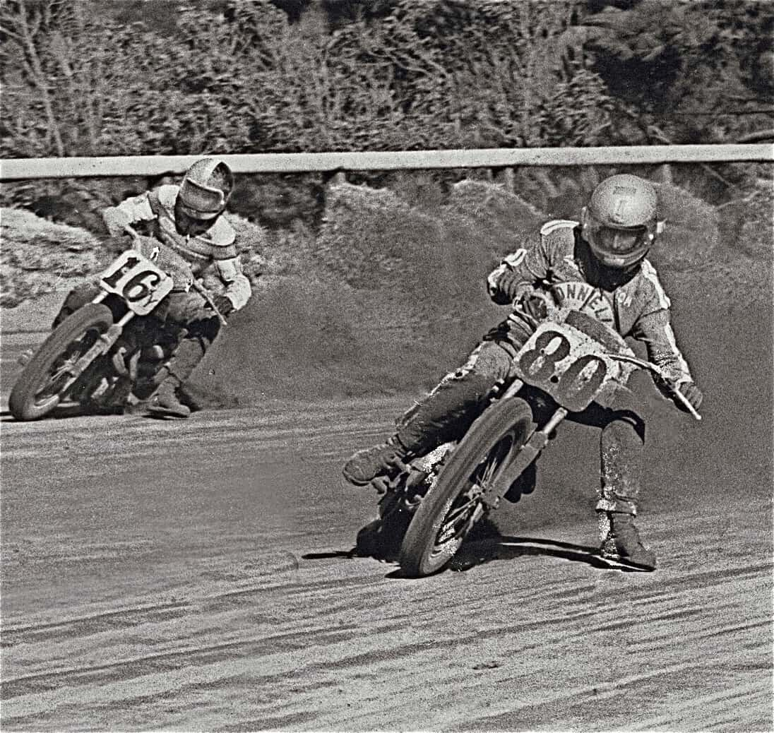 Tom (8) racing at Golden Gate Field back in 1974.