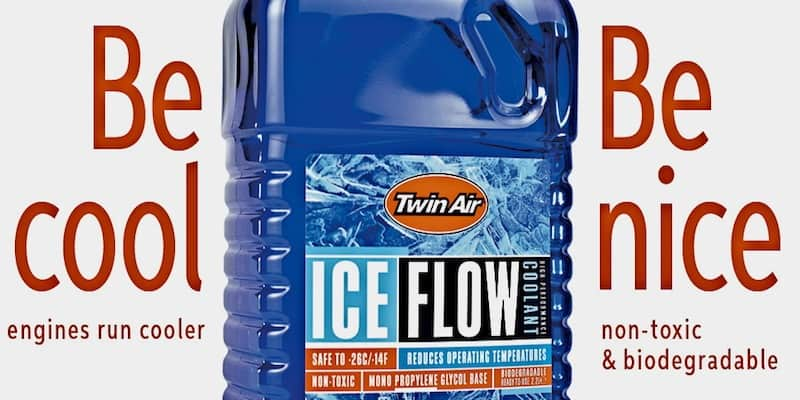 MXA PRODUCT SPOTLIGHT: TWIN AIR ICEFLOW COOLANT | Motocross Action