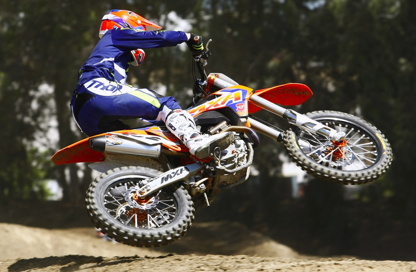 Up Close Personal With Jodys Ktm 350sxf Motocross Action Magazine