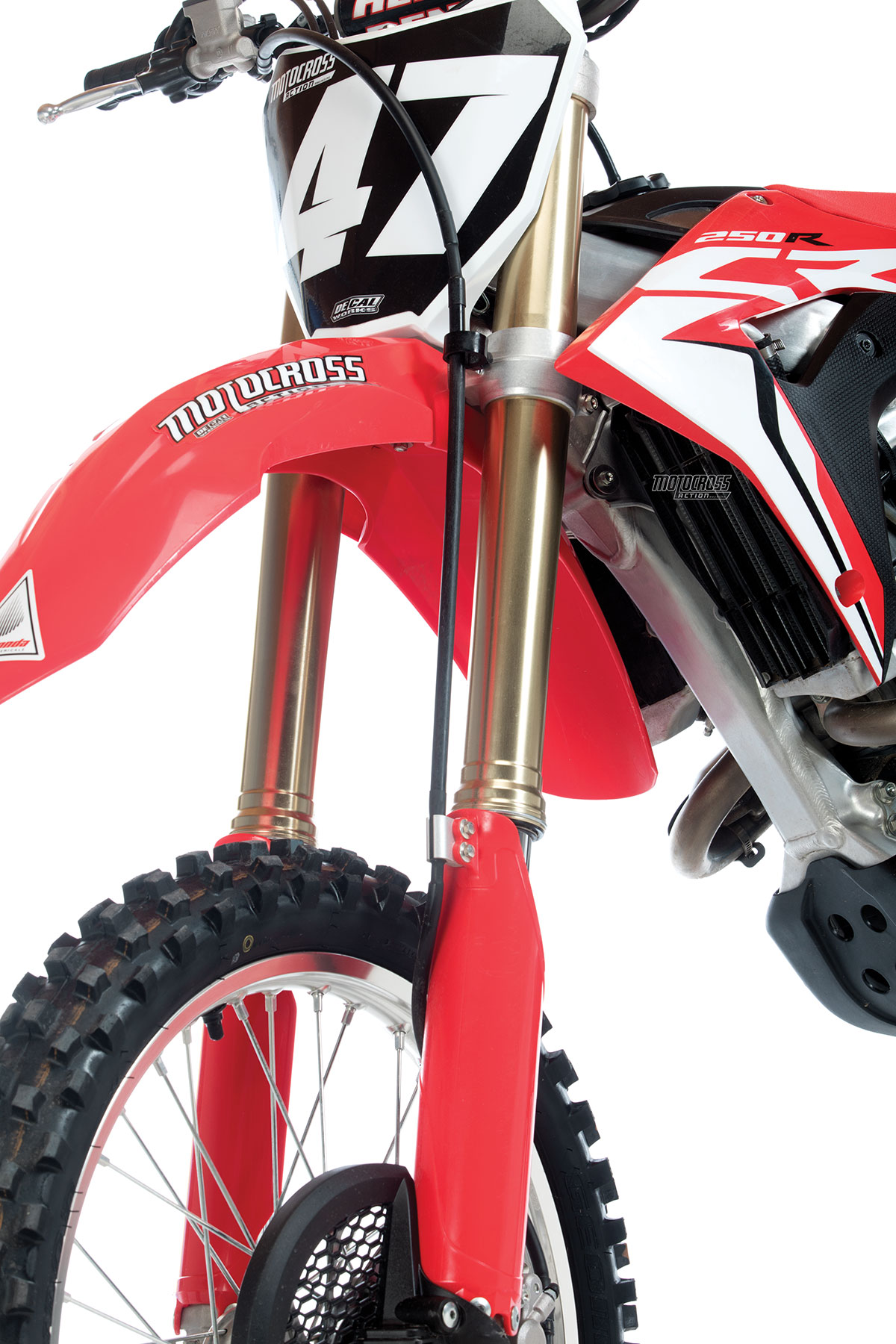 FORK WORKS: FACTORY CONNECTION 2018 CRF250 PERFORMANCE KIT