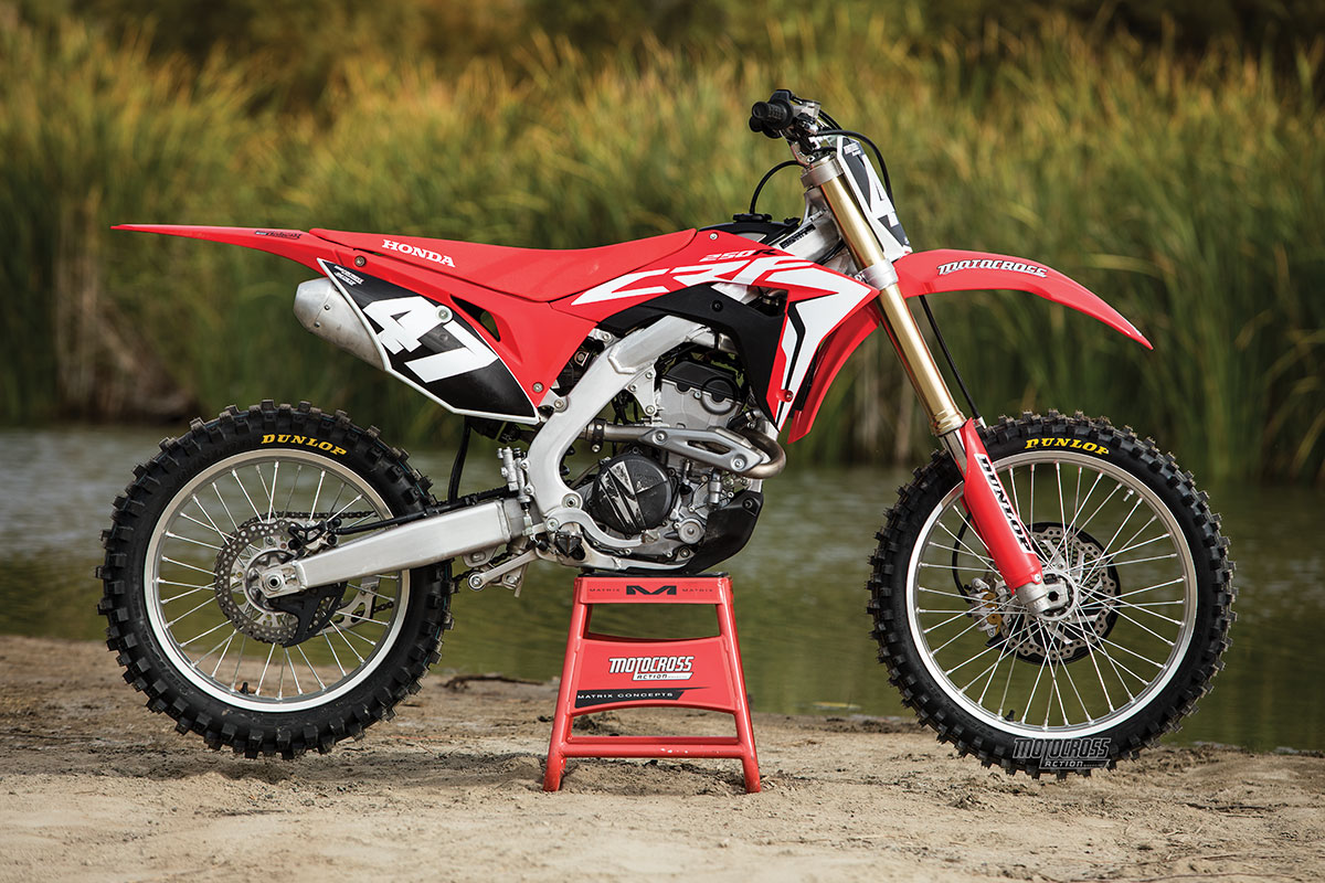 2018 Mxa 250 Shootout What Works For You Motocross Action Magazine Crf 250r Wiring Diagram Honda Crf250 Report Card 4