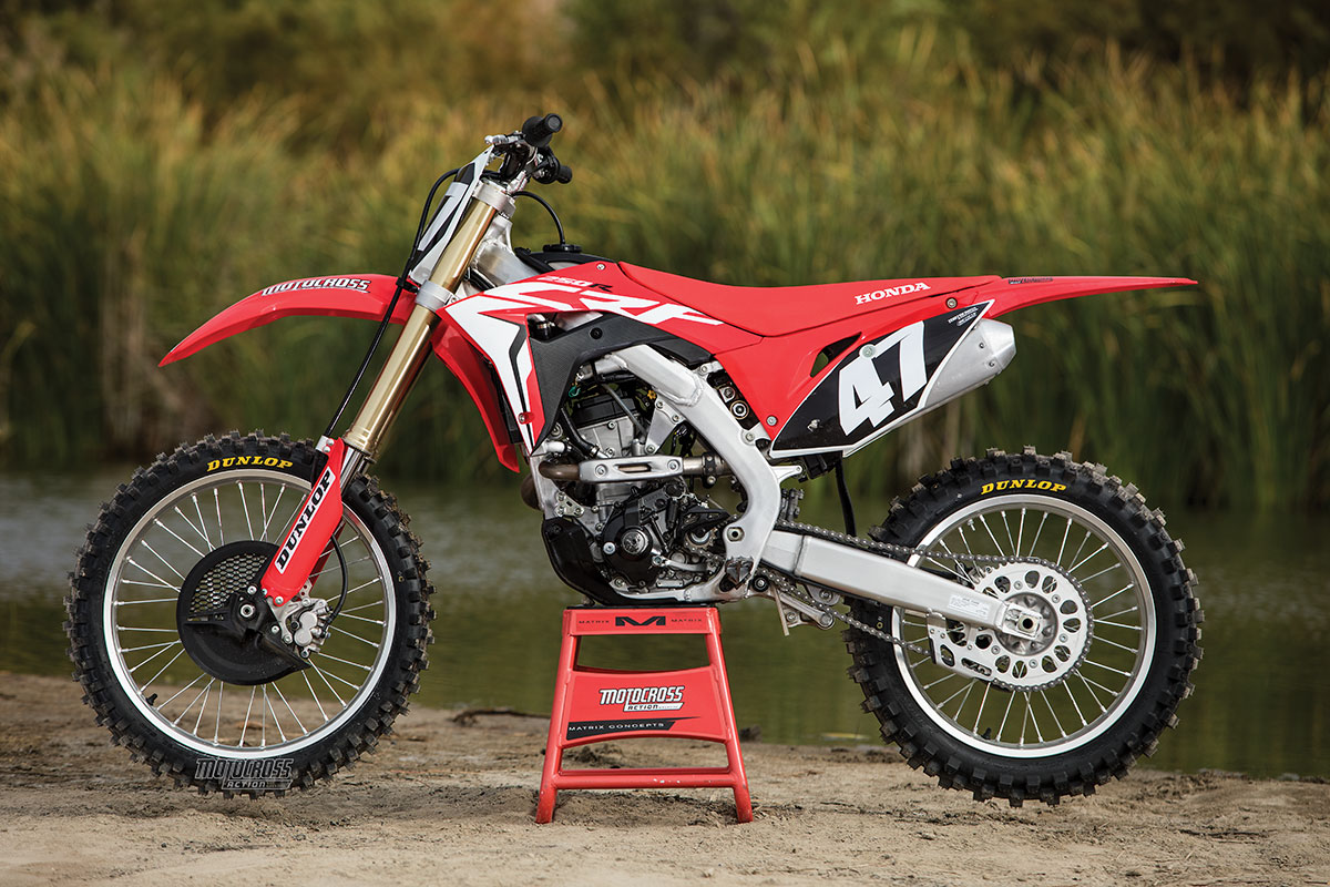 2018 Mxa 250 Shootout What Works For You Motocross Action Magazine Crf 250r Wiring Diagram Honda Crf250