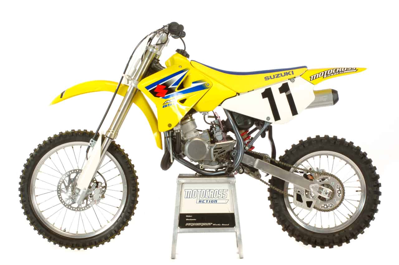 WE TEST THE 2005 SUZUKI RM85L|Motocross Action Magazine