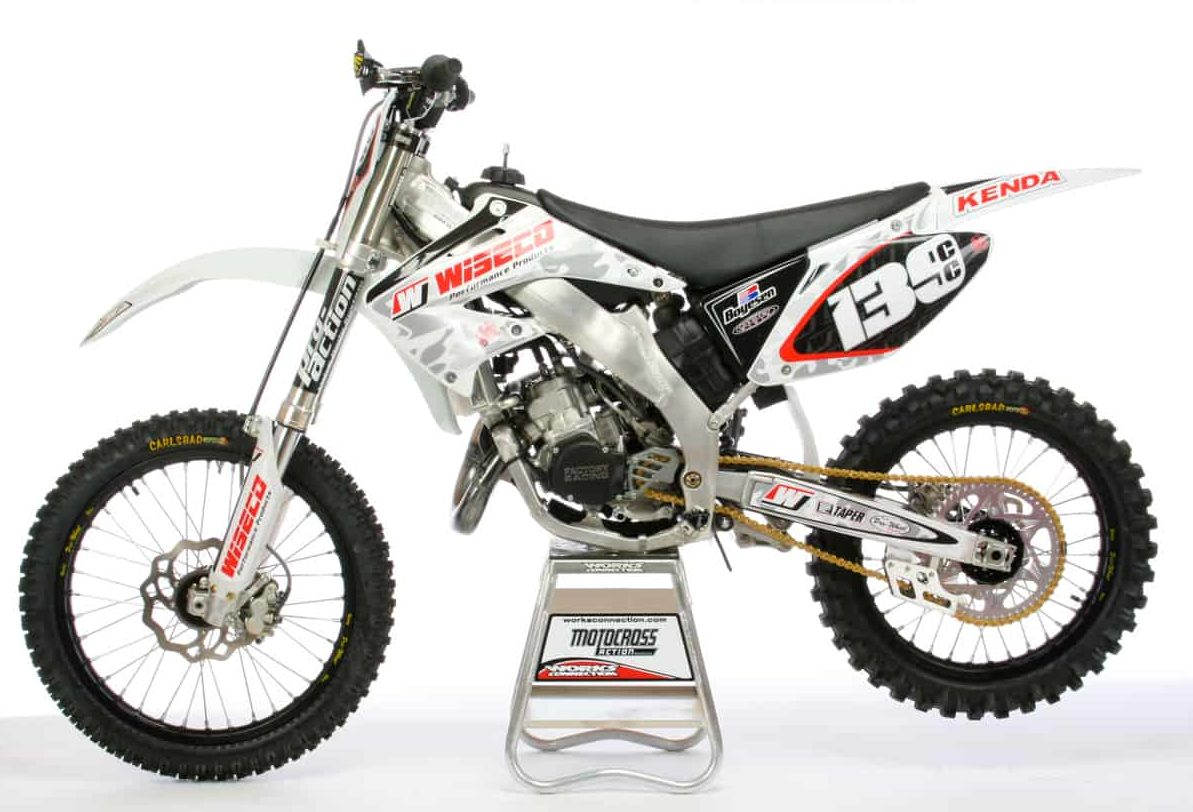 Two Stroke Tuesday Wiseco Honda Cr139 Project Bike Motocross 2006 125cc Dirt First And Foremost Wisecos Is A Little Over The Top Decked It Out With Way Too Many Aftermarket Goodies How So Mxa Wrecking Crew Loved