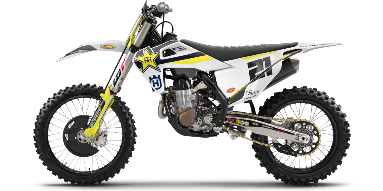 Ktm 250 Factory Edition 2018 >> 2018-1/2 HUSQVARNA FC450 ROCKSTAR EDITION FIRST LOOK | Motocross Action Magazine