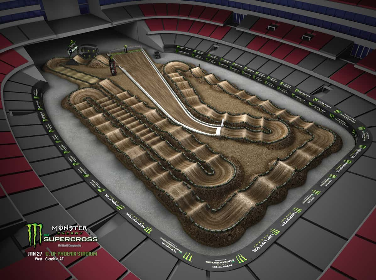 This Week S Supercross Track Using Every Inch And Then