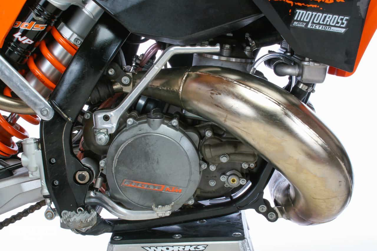Two Stroke Tuesday We Build A 2008 Ktm Electric Start