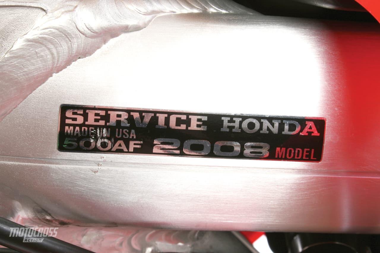 TWO-STROKE TUESDAY | 2008 SERVICE HONDA CR500 | Motocross Action ...