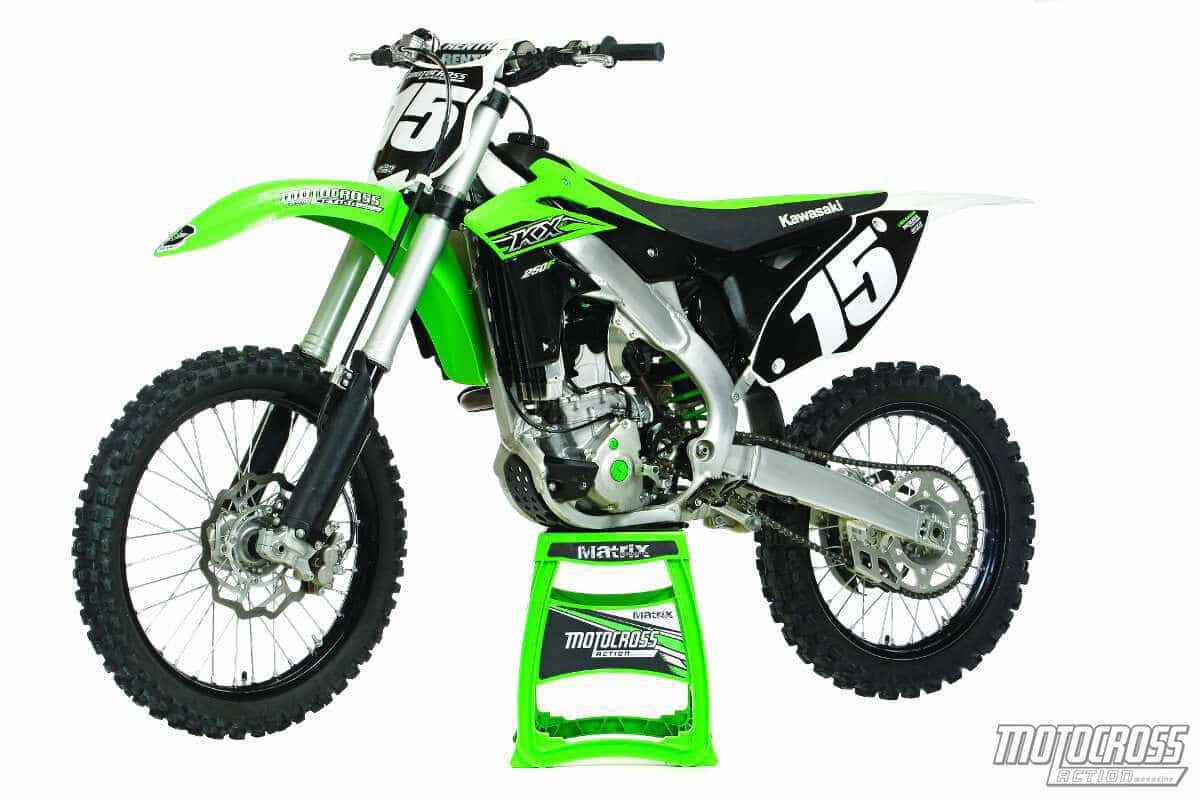 mxa's 2015 kawasaki kx250f motocross test great? motocross action 2014 250f shootout perks what's so attractive about the 2015 kx250f? people will like the adjustable footpegs, oversize front brake rotor, bridge box piston, heavier magneto