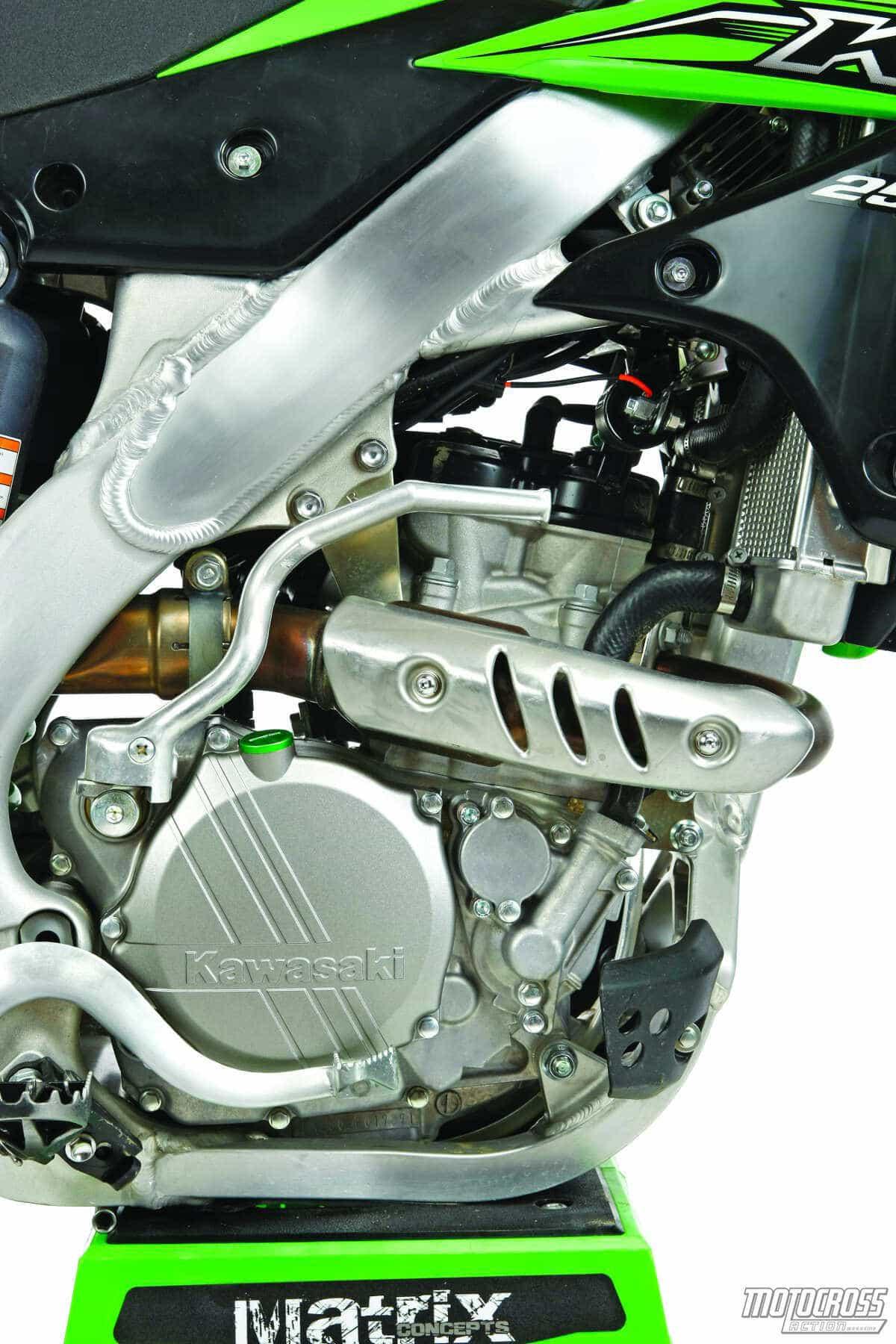 MXAS 2015 KAWASAKI KX250F MOTOCROSS TEST GREAT – Kx250f Engine Diagram