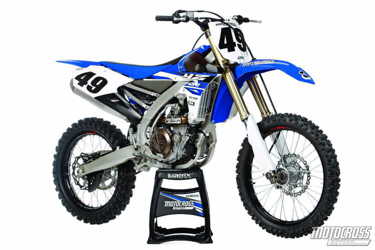 Mxa S 2015 Yamaha Yz450f Motocross Test Suspense Novel