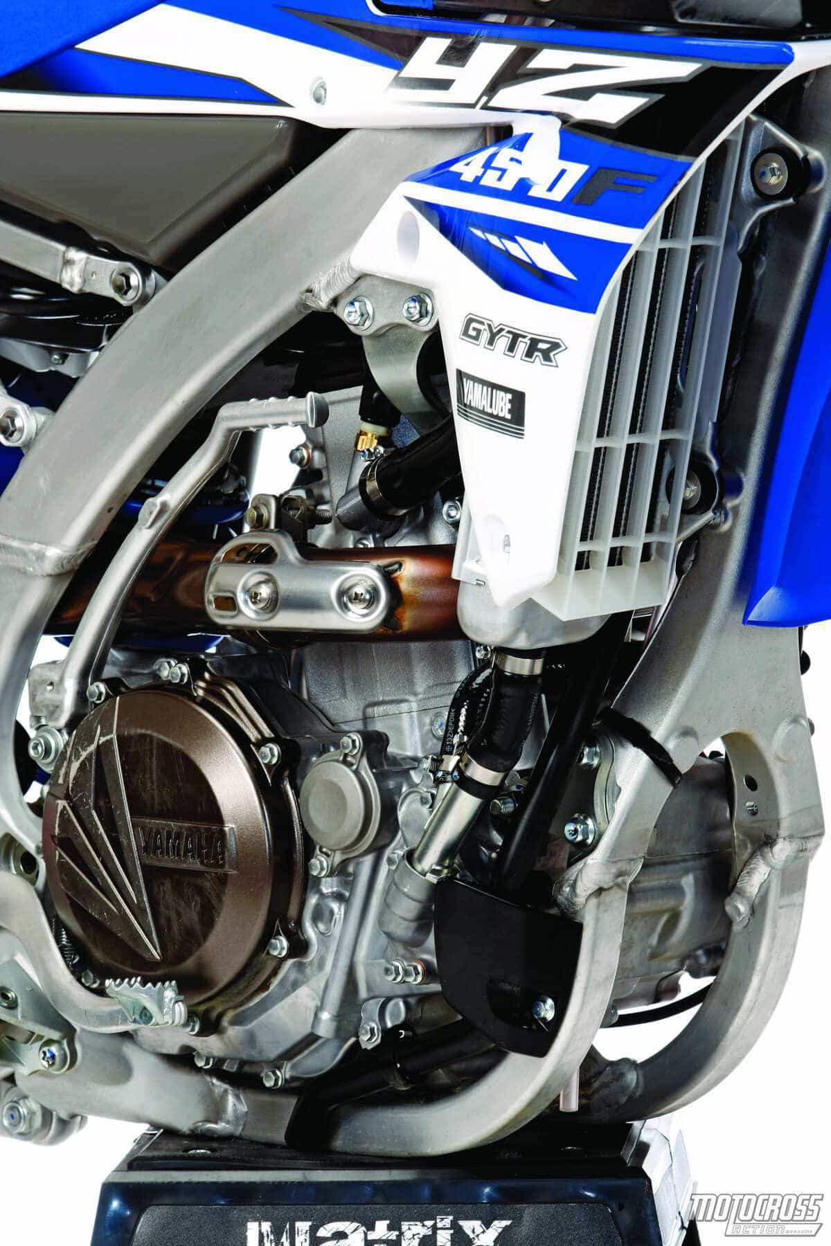 Thanks to the mapping changes, the YZ450F is smoother, more manageable and  exhibits gentlemanly
