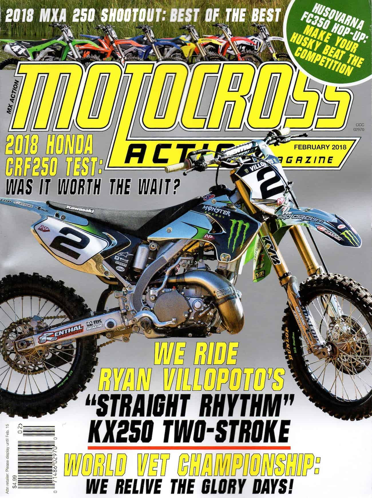 Mxa Motocross Race Test 2018 Honda Crf250 Action Magazine 2005 Crf250x Wiring Diagram Had You Subscribed To Would Have Read This Complete Bike When In Came Out Back January Click The Box Below Subscribe