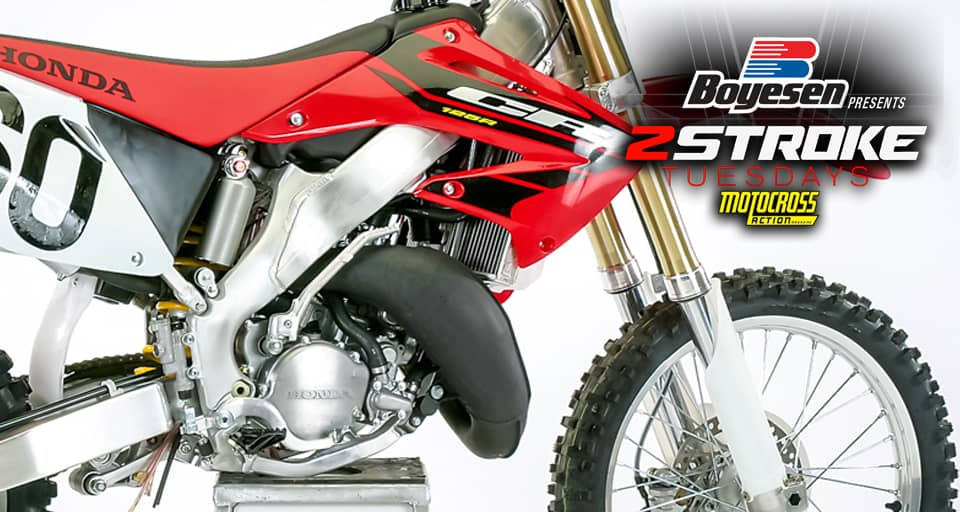 Two Stroke Tuesday We Test The 2004 Honda Cr125 Motocross Action