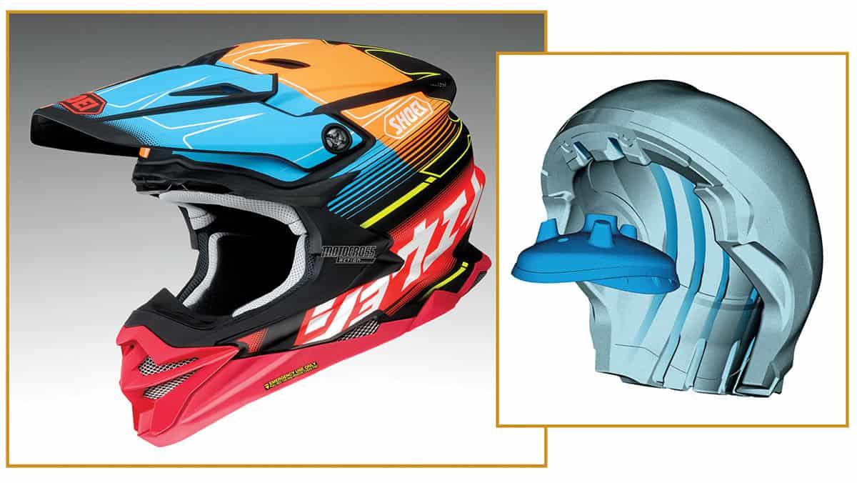 mxa team tested shoei vfx evo helmet motocross action. Black Bedroom Furniture Sets. Home Design Ideas