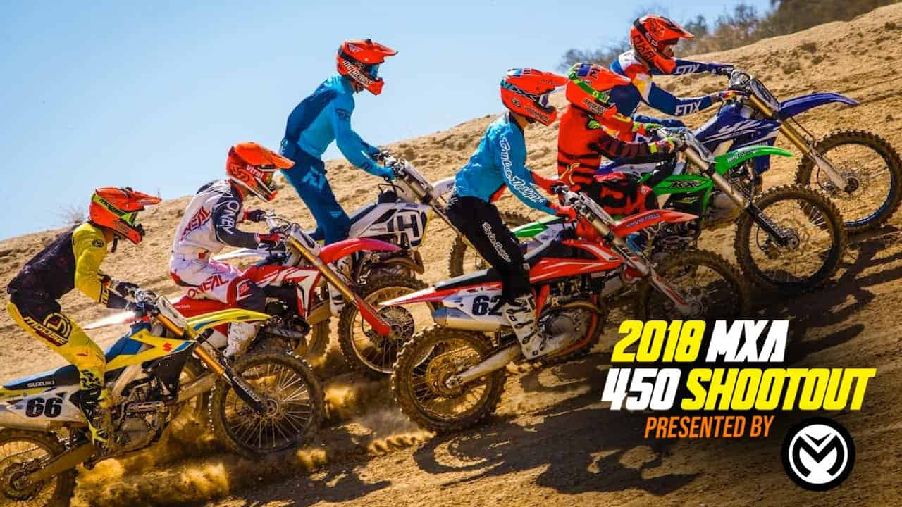 "For the wrecking crew, the ""2018 MXA 450 Shootout"" started back in May of  2017. A shootout is a fairly straightforward process with a few twists and  turns ..."