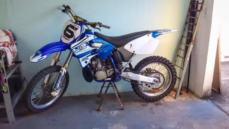 before 2001 yz250