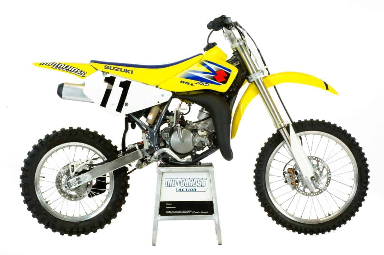 We Test The 2005 Suzuki Rm85l Motocross Action Magazine