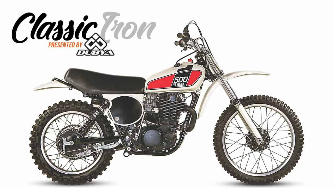 classic motocross iron 1976 yamaha tt500 four stroke. Black Bedroom Furniture Sets. Home Design Ideas