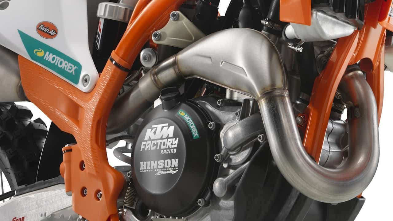ASK THE MXPERTS: WHY DO KTM'S HAVE TWO-STROKE PIPES ON THEM