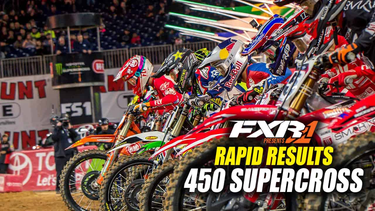 2018 indianapolis supercross 450 main event results. Black Bedroom Furniture Sets. Home Design Ideas