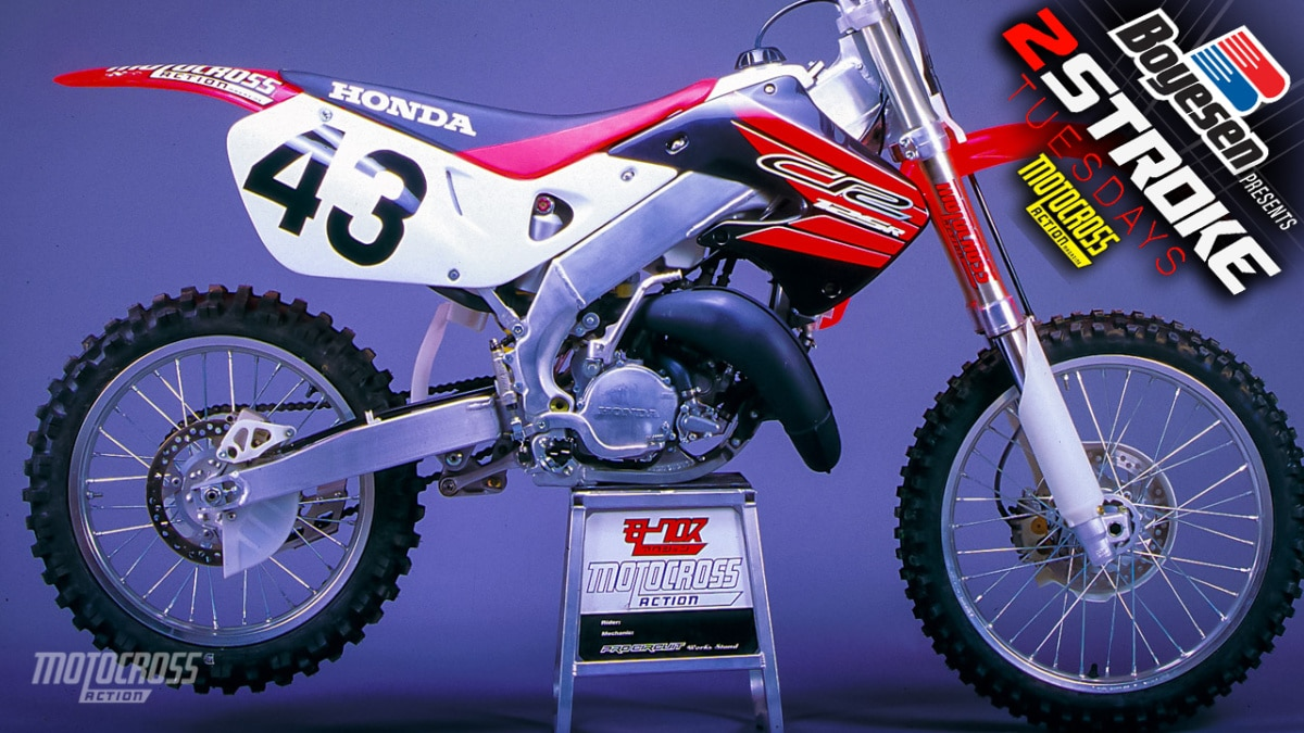 Peachy Two Stroke Tuesday We Race Test The 1999 Honda Cr125 Theyellowbook Wood Chair Design Ideas Theyellowbookinfo