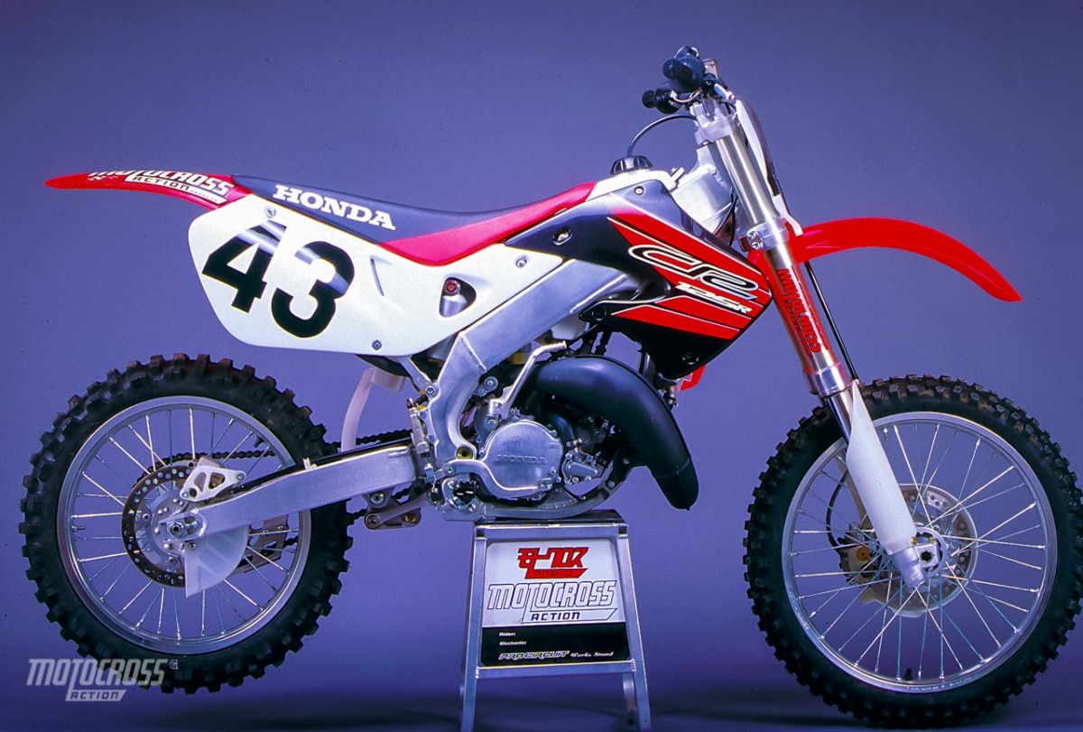WE TEST THE 1999 HONDA CR125 TWO-STROKE | Motocross Action ...