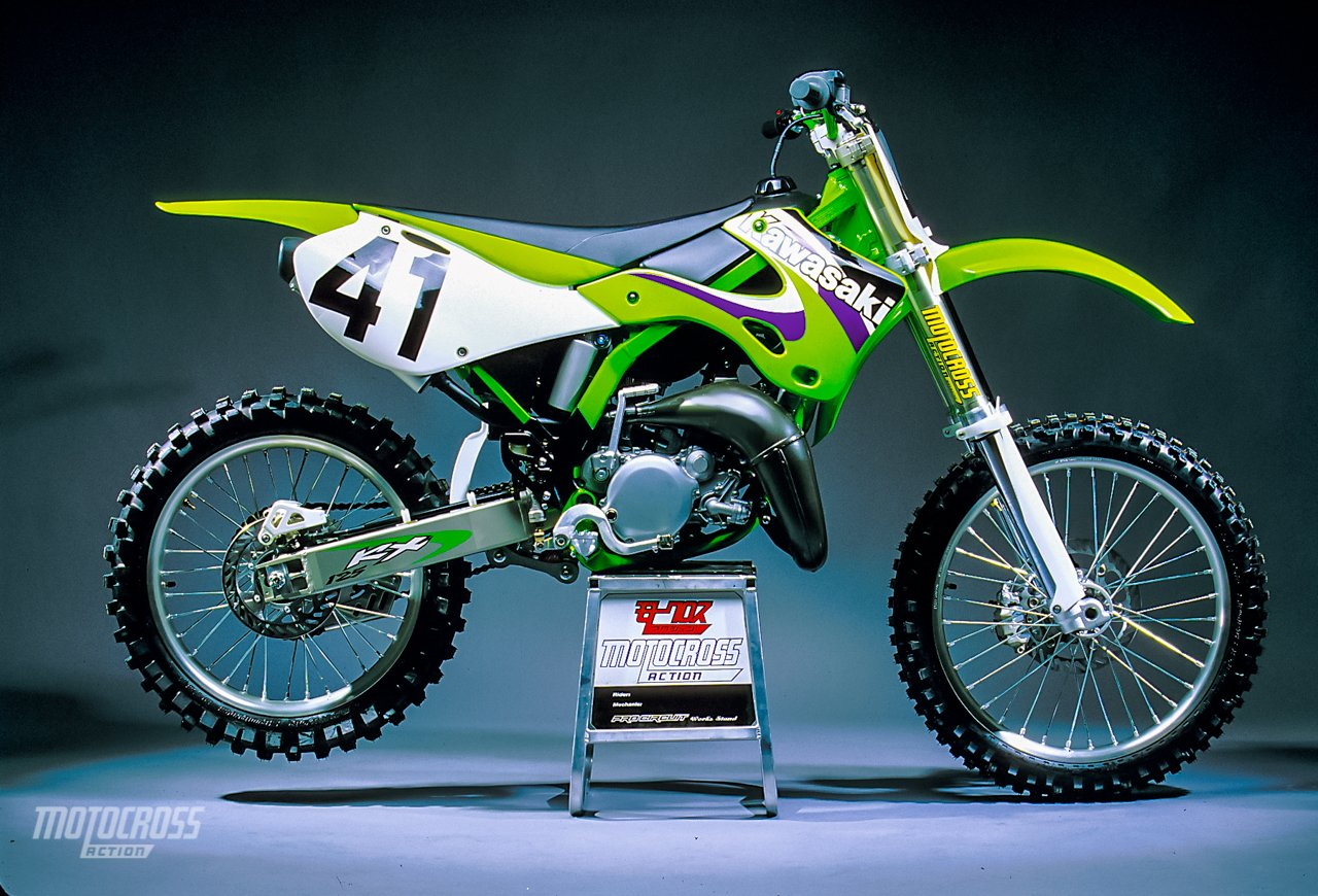 Fine We Test The 1999 Kawasaki Kx125 Motocross Action Magazine Pabps2019 Chair Design Images Pabps2019Com