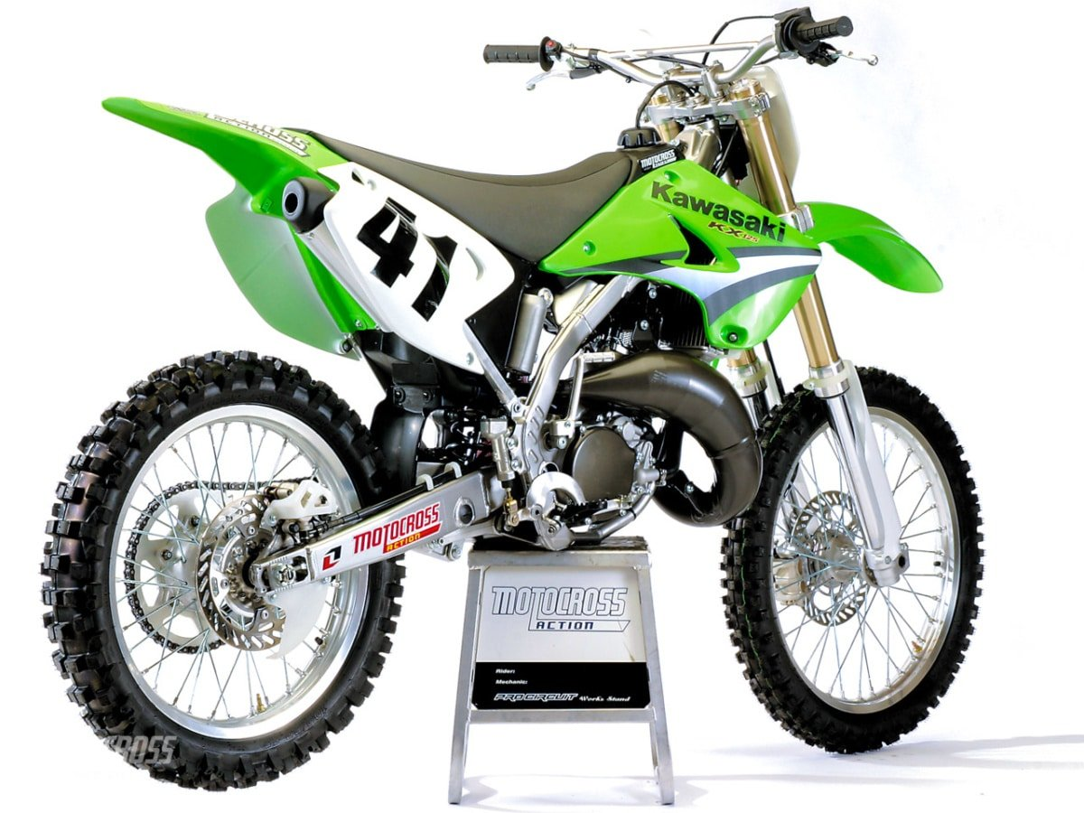 Peachy On Record We Test The 2005 Kawasaki Kx125 Motocross Pabps2019 Chair Design Images Pabps2019Com